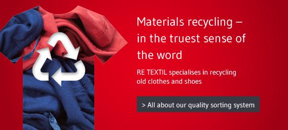 Textile recycling // RE TEXTIL